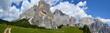 Quadro Dolomiti del Cadore - Monte Civetta  (panorama con vista verso torre Venezia)