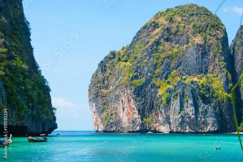 Maya bay of Phi-Phi island Poster