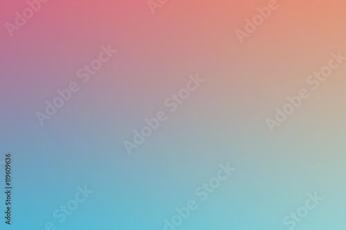 Pastelowe Multi Color Gradient Vector Background, Prosta forma i mieszanka przestrzeni kolorów jako tło współczesnej grafiki graficznej