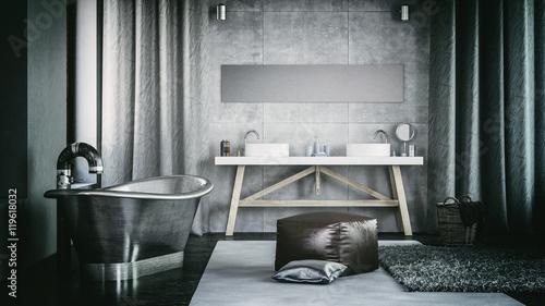 Modern Architectural Home Bathroom Design