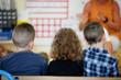 Des enfants dans une classe d'école