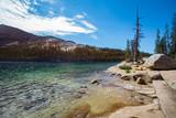 Fototapety Yosemite National Park view of Tenaya Lake along Tioga pass