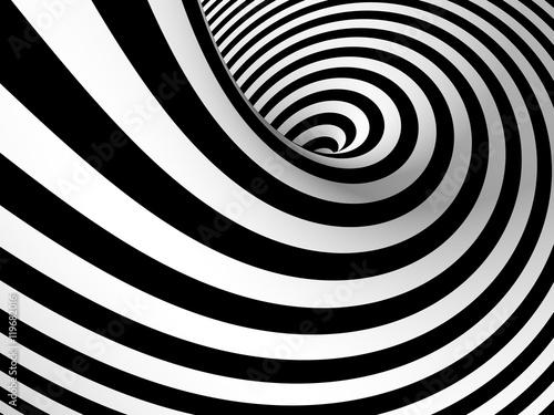 streszczenie-czarno-bialy-tunel