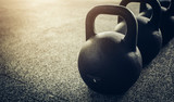 Workout with kettlebells