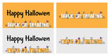 Happy Hallowen vector, Happy Hallowen background, Happy Hallowen banner, Happy Hallowen card style, trick or track