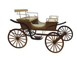 Old Wagon For The Horses    Wall Sticker