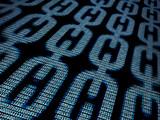 Blockchain digital background - 119791665