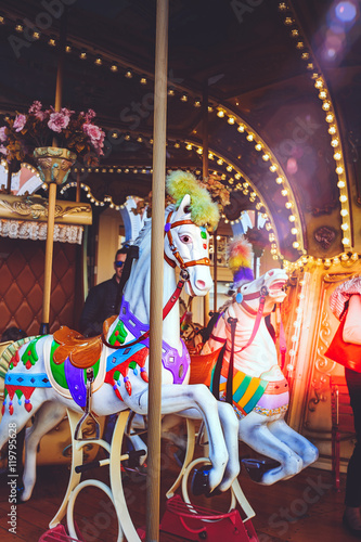 Luna park and carousel series