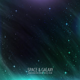 galaxy and space background