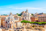 Wieczne miasto Rzym, Włochy, panorama