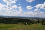 Zielone wzgórza w Bieszczadach, Polska