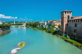 Ponte Pietra on river Adige