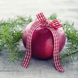 Red Christmas apple - 119846696