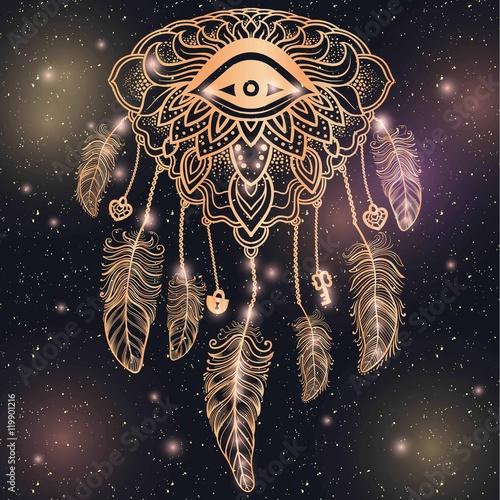 american-indian-talizman-dreamcatcher-z-okiem