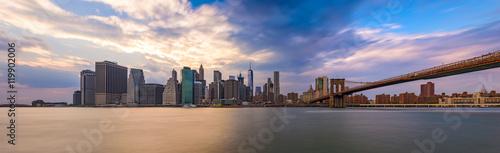 Foto op Canvas New York City Skyline