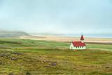 Breidavik church, Westfjords, Iceland
