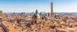 Quadro cityscape of Bologna