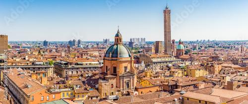 Fototapeta cityscape of Bologna