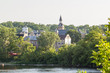 """View of Town Paris, Ontario, Canada Paris, the town was established in 1850,  voted """"the Prettiest Little Town in Canada"""" by Harrowsmith Magazine"""