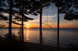 Sunset at Miners Beach, Pictured Rocks National Lakeshore, Munising, Michigan