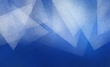 Fototapety blue background with abstract white triangle layers with texture in pretty top border pattern
