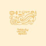 Beauty and Cosmetics logo desighn element.