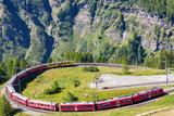 Bernina Express (CH) - Fermata all'Alpe Grum
