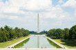 washington monument at sunny day