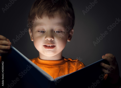 boy read book Poster