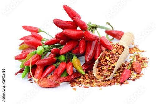 Foto op Aluminium Hot chili peppers Chili Schoten