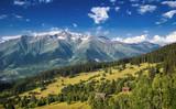Svanetian valley
