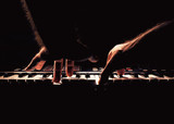 Fototapety Playing a Piano or Synth