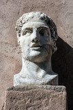 Testa colossale virile, Castel Sant