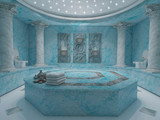 Blue hammam spa