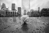 Memoriale di Ground Zero, New York City, costruito dopo gli attacchi terroristici dell