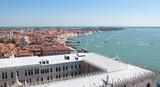 Venezia- Palazzo Ducale e Lido visti dal Campanile