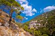 Pustinja Blaca canyon hermitage on Brac island