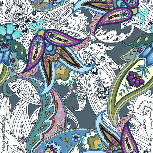 kolorowe-kwiaty-bez-szwu-paisley-wzor-owijanie-wydruku-wzor-w-kwiaty