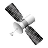 satellite communication isolated icon vector illustration design