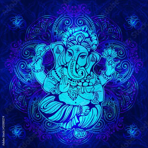 Plakát Hindu Lord Ganesha
