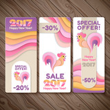 Banner sale set for New Year of the rooster