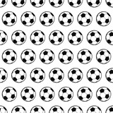 Abstract soccer balls background