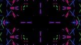Neon Vj Kaleidoscope Loop