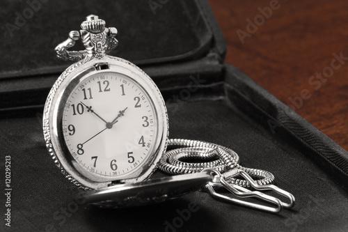 Relógio de bolso vintage Plakát