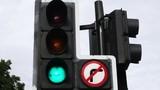 Red, Yellow, Green Traffic Light
