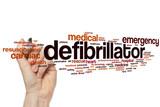 Defibrillator word cloud