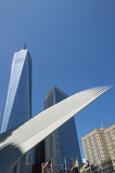 Modern architecture on the skyline in Downtown Manhattan, New York City - 120398408