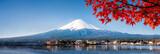 Góra Fuji Panorama jesienią