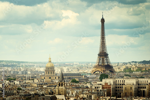View on Eiffel Tower, Paris, France Photo by Iakov Kalinin