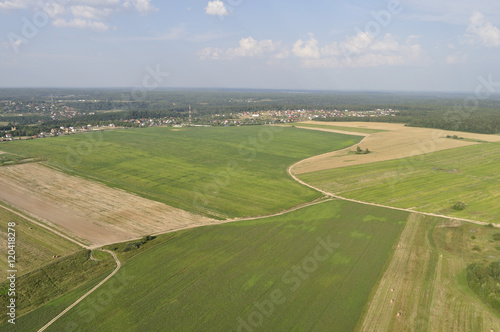 Aerial view - rural landscape